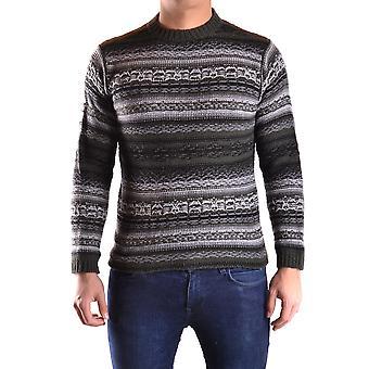 Meltin-apos;pot Ezbc262011 Men-apos;s Grey/black Wool Sweater