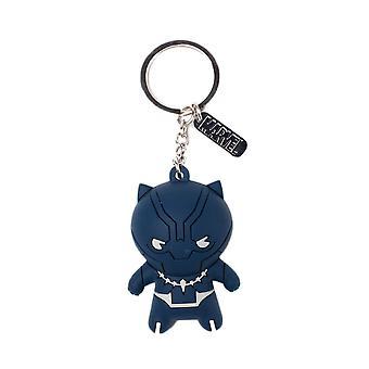 Marvel Black Panther 3D Kawaii Figure Keyring