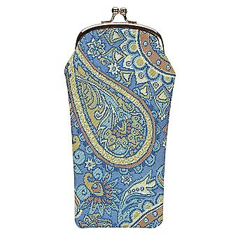 Paisley Brillentasche mit signare tapestry/gpch-pais