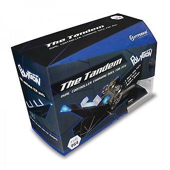 PS4 [报价;Tandem_quote;双控制器充电基座 - 超金多边形