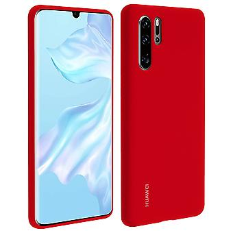 Huawei P30 Pro Soft Case Huawei semi-rigide silicone-rood