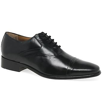 Rombah Wallace Westminster Black Leather Formal Shoe