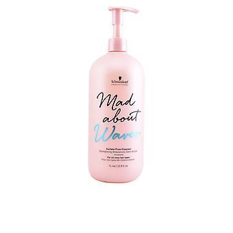 Schwarzkopf Mad About Waves Sulfate Free Cleanser 1000 Ml Unisex