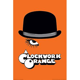 Poster - A Clockwork Orange - Bowler & Eyelash 24
