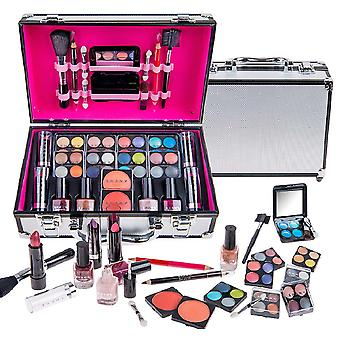 SHANY Carry alle make-up trein geval met Pro make-up, herbruikbare aluminium behuizing
