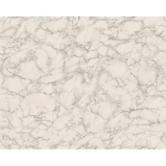 A.S. criação como criação padrão de mármore papel de parede efeito falso pedra realista texturizado 305821