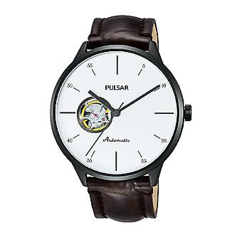 Pulse business Automatic Analog Man Watch with PU7025X1 Cowskin Bracelet