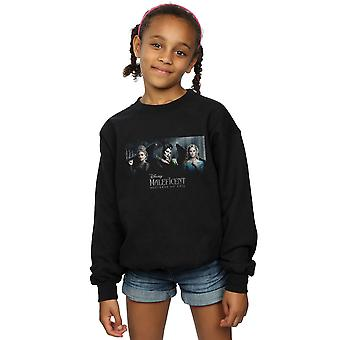 Disney Girls Maleficent Mistress Of Evil Character Poster Sweatshirt