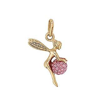 Bijoux pour tous Woman Plated Gold Round Rose Zirconium Oxide FASHIONBRACELETBRACELET