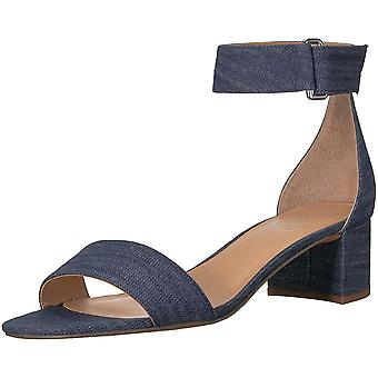 Franco Sarto Womens Rosalina Leather Open Toe Special Occasion Ankle Strap Sa...
