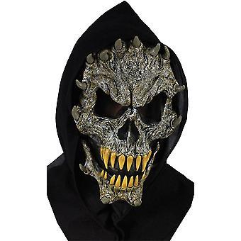 Schedel met giftanden masker