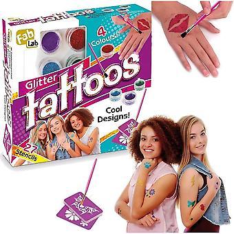 Fab Lab Glitter Tattoo Kit