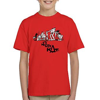 Krazy Kat Group Picture Kid's T-Shirt