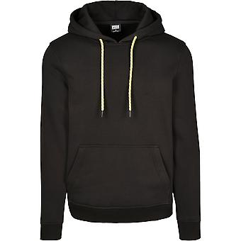 Urban Classics Men's Hooded Sweater Contrast Drawstring