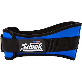 "Schiek Sport Model 2006 Nylon 6"" Gewichthefgordel - Royal Blue"