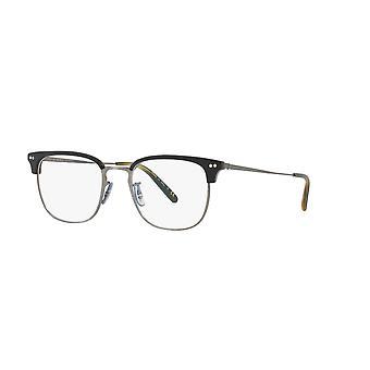 Oliver Peoples Willman OV5359 1282 semi matt svart-oliv glasögon
