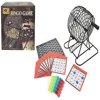 MIJN Deluxe metalen Bingo spel
