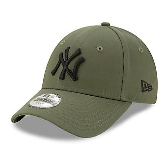 Ny æra 9Forty Kids Cap-New York Yankees Olive
