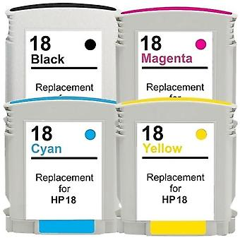 18XL Compatible Inkjet Cartridge Set  4 Cartridges