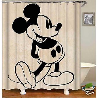 Klassische Mickey Mouse Duschvorhang