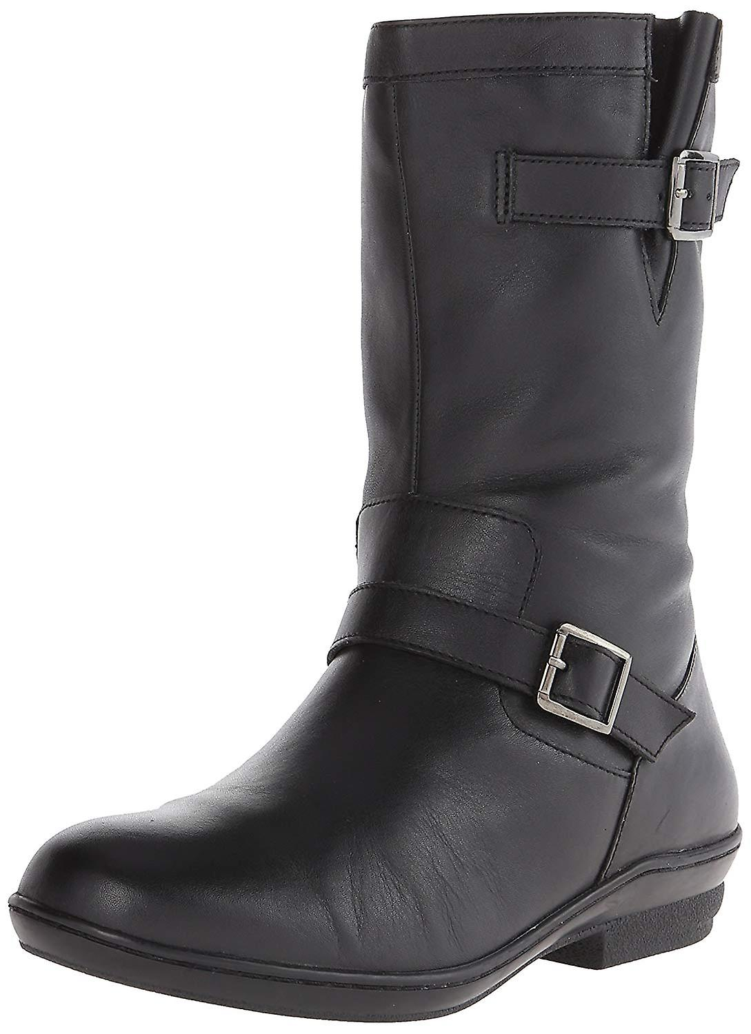 David Tate Womens Dorthy Leather Round Toe Ankle Fashion Boots Tey5m