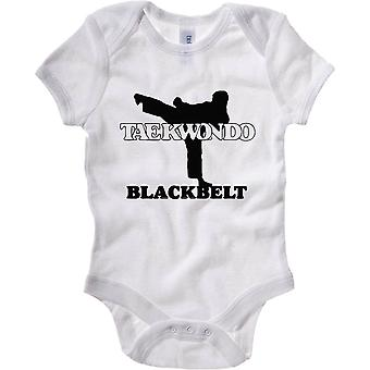 White newborn body wtc1489 taekwondo belt