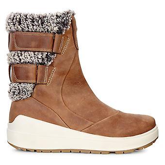 Ecco mujeres Noyce Hydromax piel de cuero al aire libre forrado botas calientes