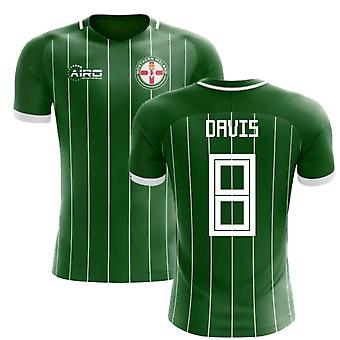 2020-2021 Northern Ireland Home Concept Football Shirt (Davis 8)