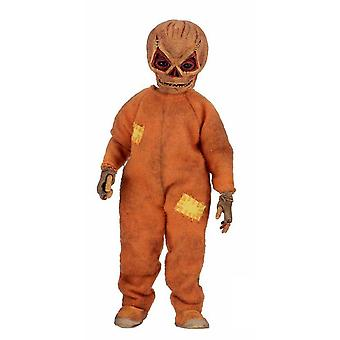 Trick R Treat Clothed Action Figure Sam Figure made of plastic, clothing in fabric, Manufacturer: NECA.