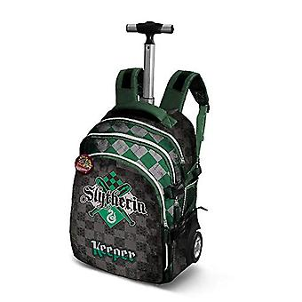 Harry Potter Quidditch Slytherin-Travel Trolley-Rucksack Backpack Casual - 28 liters - Green