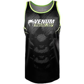 Camp d'entraînement de Venum 2.0 débardeur noir/Neo jaune