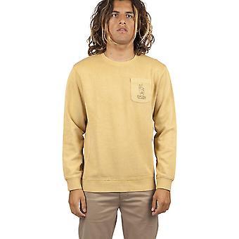 Rip Curl oprette sweatshirt i sennep