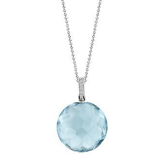 Pendant Ti Sento Impressions 6758WB - pendant pendant silver stone Indigo blue of water woman