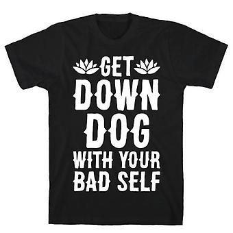 Descendez chien avec votre mauvais t-shirt
