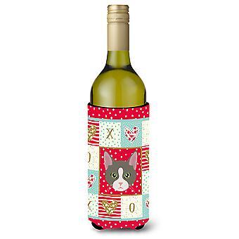 Brasilian Shorthair kissa viini pullon juoma eriste Hugger
