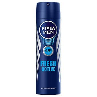 Nivea Fresh Active 48h Deodorant Spray 150 ml