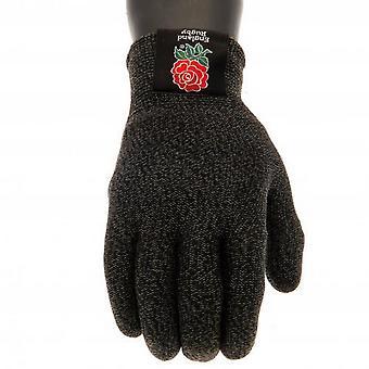England RFU Adults Unisex Luxury Touchscreen Gloves