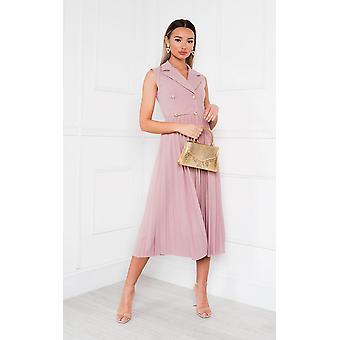IKRUSH Womens Corin Pleated Skirt Dress
