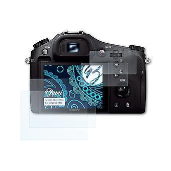 Bruni 2x Protetor de Tela compatível com Sony DSC-RX10 Protective Film