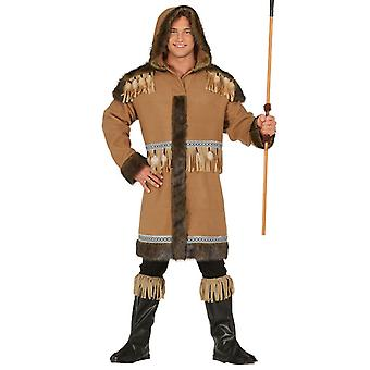 Mens Eskimo Fancy Dress Kostuum