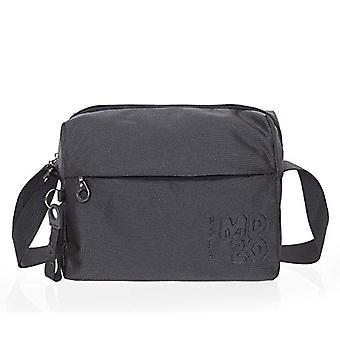Mandarin Duck P10QMTV8 Grey Women's Shoulder Bag (Steel) 10x21x28.5 cm (W x H x L)