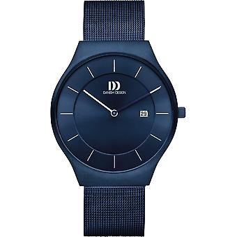 Diseño danés IQ69Q1259 L'ngeland Men Watch