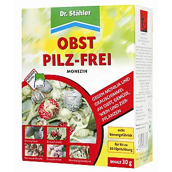 DR. STÄHLER Monizin Fruit Mushroom-free, 6 x 5 g