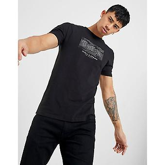 New Supply & Demand Men's Twin Tone Short Sleeve T-Shirt Black