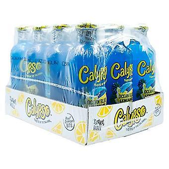 Calypso Ocean Blå Limonade-( 591 Ml X 12 Bokser )