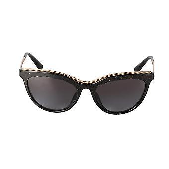Dolce and Gabbana DG4335F 3218/8G 54 Cat Eye Sunglasses