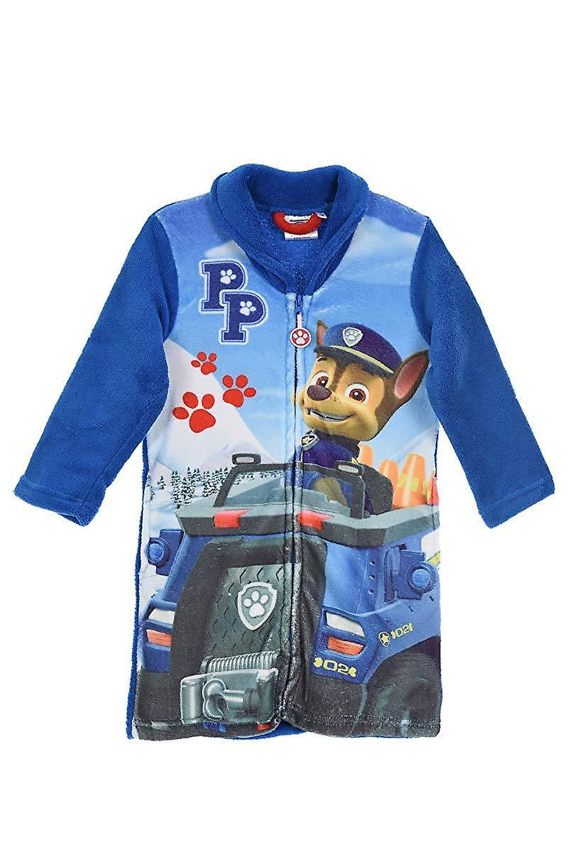 Paw patrol chase robe gown coral fleece