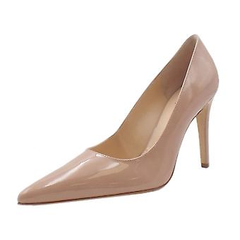 Högl 0-18 9004 Boulevard 90 Stylish Pointed Toe Court Shoes In Nude