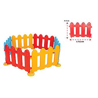 Pilsan play fence, plastic fence, grille 06203, 6 elements 72.5 x 51.5 x 3.8 cm