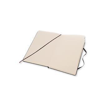 Moleskine notebook large dot -  black - hard cover